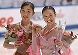 NHK杯表彰台