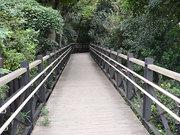 フランス山へと続く橋