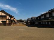 町人の家並み