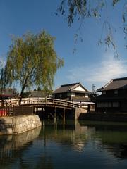 川と橋と柳(2)