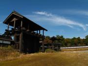 岐阜城の門(1)
