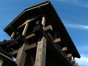 岐阜城の門(2)