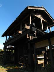 岐阜城の門(3)
