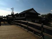 高麗門の橋