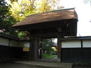 坂野家住宅 入り口(2)