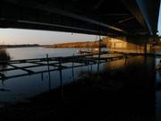 細見橋の高架下