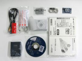 IXY DIGITAL 900IS の付属品