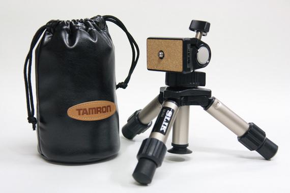 TAMRON SP AF90mm とミニ三脚