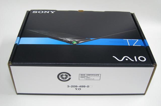 VAIO Type T の箱