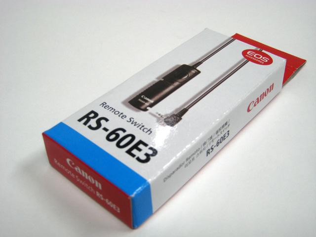 リモートスイッチ(レリーズ)/Canon RS-60E3