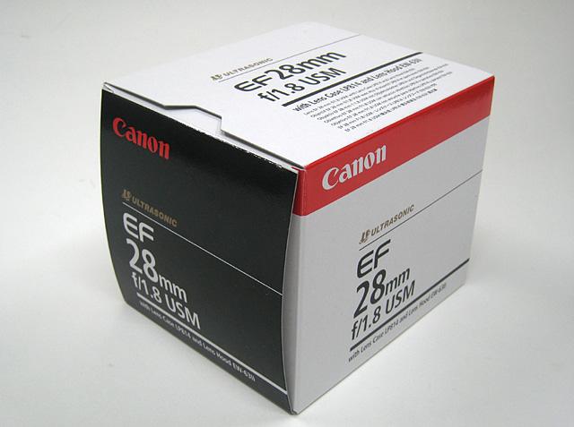 Canon EF28mm F1.8 USM