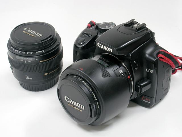 EF50mm/F1.4 と EF28mm/F1.8