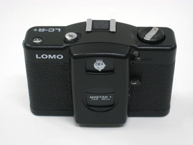 LOMO LC-A+の正面写真