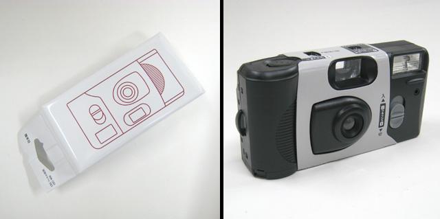 無印の使い捨てカメラ