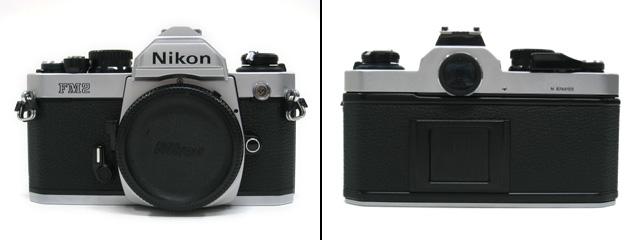 Nikon NewFM2の正面と背面