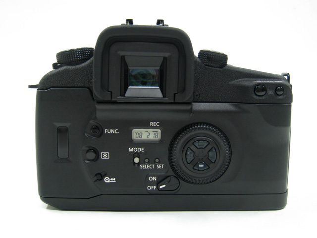 EOS 7s の背面写真
