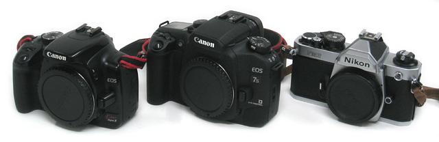 カメラの大きさ比較