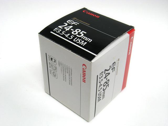 EF24-85mm F3.5-4.5 USM の箱