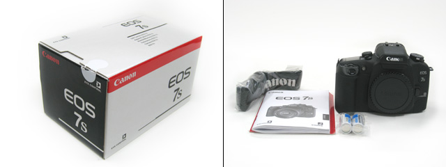 EOS 7s のパッケージ