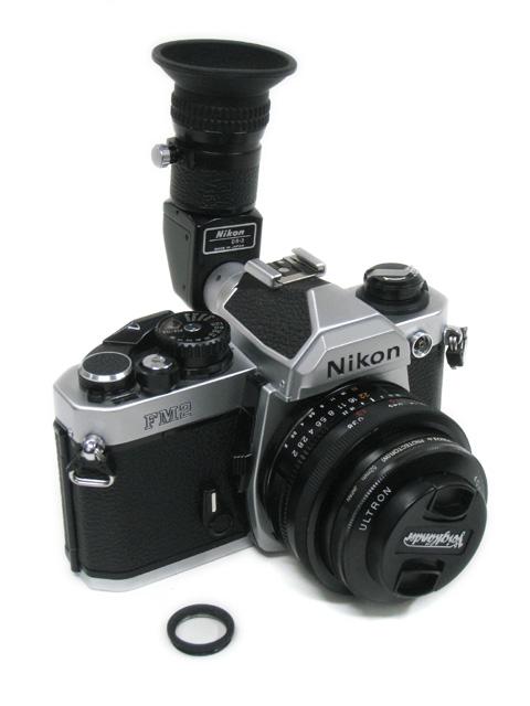 Nikon NewFM2 にDR-3を装着