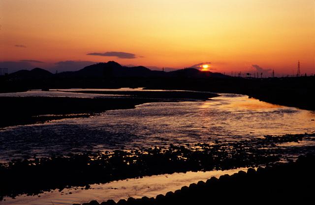 夕日がきれいな街(3)