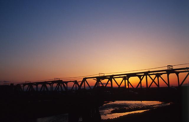 夕日がきれいな街(2)