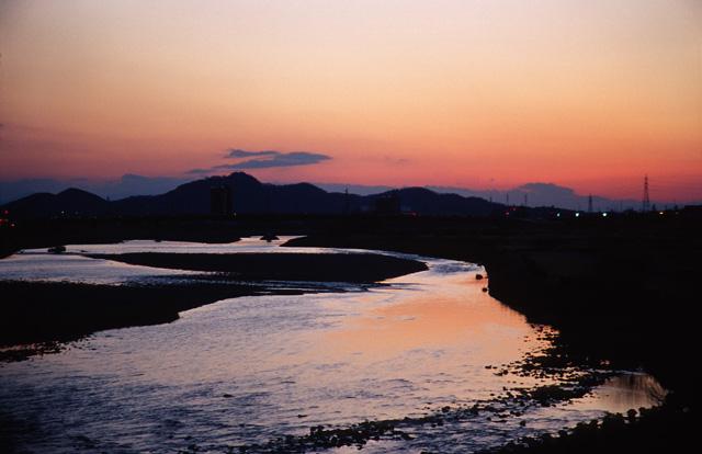 夕日がきれいな街(5)