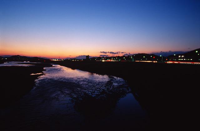 夕日がきれいな街(6)