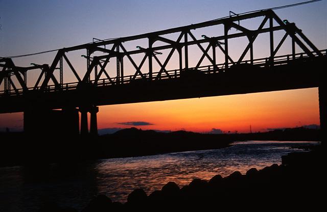 夕日がきれいな街(4)